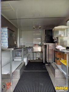 2004 P42 Step Van Pizza Truck Pizza Food Truck Stainless Steel Wall Covers Florida Diesel Engine for Sale