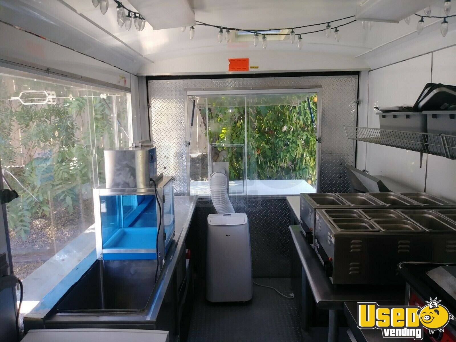 2004 Roadcoach All-purpose Food Trailer Microwave California for Sale - 8