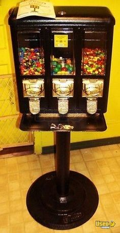 Seaga Triple Vend Bulk Candy Vending Machines For Sale
