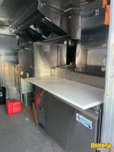 2004 Step Van Pizza Truck Pizza Food Truck Reach-in Upright Cooler Virginia Diesel Engine for Sale