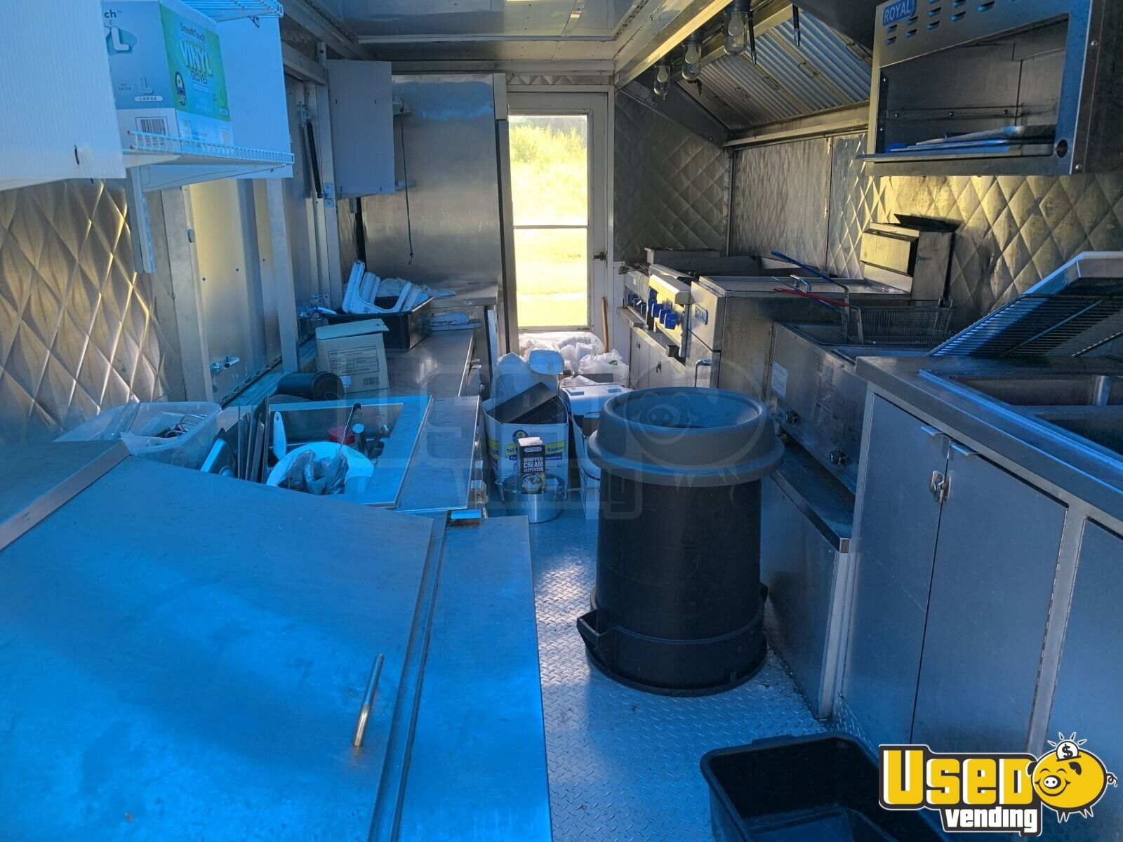 2005 28' Diesel All-purpose Food Truck Exhaust Fan New York Diesel Engine for Sale - 23