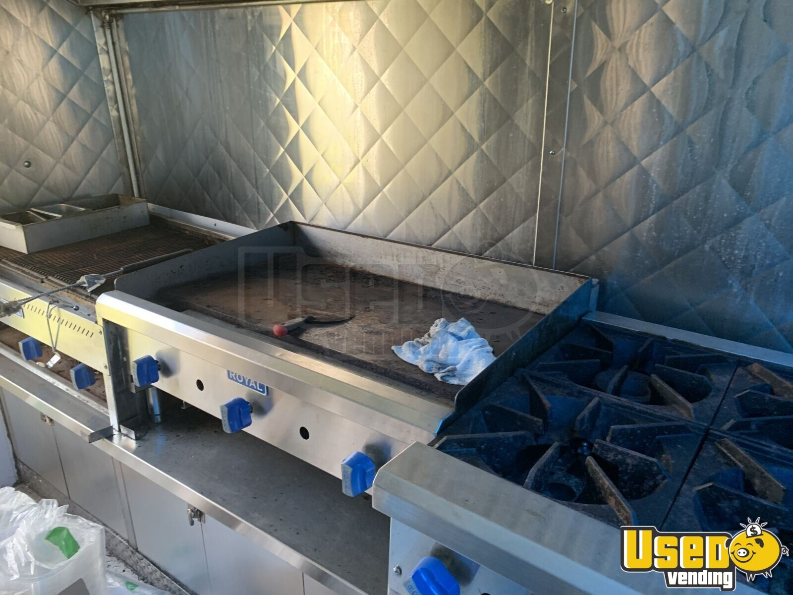 2005 28' Diesel All-purpose Food Truck Fryer New York Diesel Engine for Sale - 17