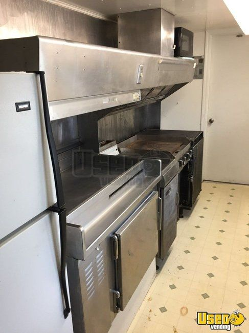 2005 Barbecue Concession Trailer Barbecue Food Trailer Deep Freezer Missouri for Sale