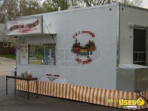 2005 Food Concession Trailer Concession Trailer Cabinets Michigan for Sale
