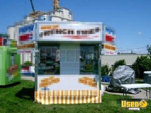 2005 Food Concession Trailer Concession Trailer Stainless Steel Wall Covers Michigan for Sale