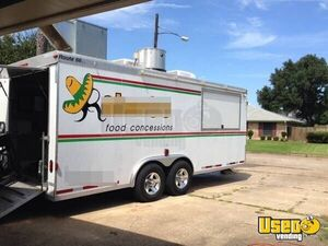 2005 Food Concession Trailer Kitchen Food Trailer Air Conditioning Texas for Sale