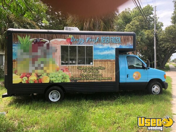 2005 Ford E-450 Coffee Truck Florida Gas Engine for Sale