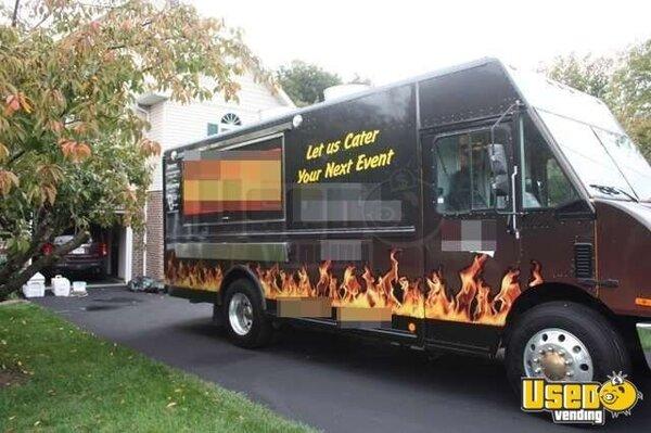 for sale used freightliner mt 55 food truck in maryland mobile kitchen. Black Bedroom Furniture Sets. Home Design Ideas