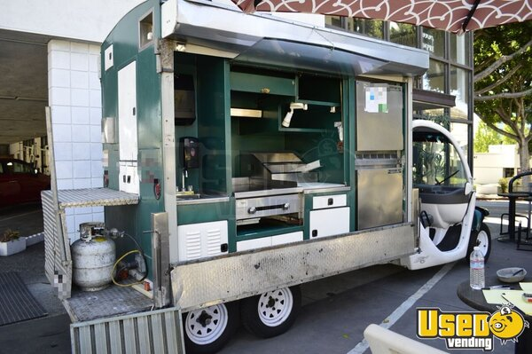 2005 Gem Cart + Kitchen Lunch Serving Food Truck California for Sale