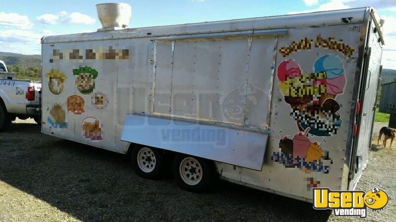 2005 Hallmark All-purpose Food Trailer Concession Window Tennessee for Sale - 2