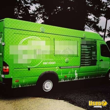 2005 Mbz Sprinter Food Truck Air Conditioning Georgia Diesel Engine for Sale - 2