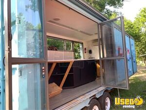 2005 Shipping Container Food Concession Trailer Concession Trailer Cabinets Texas for Sale