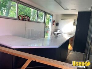 2005 Shipping Container Food Concession Trailer Concession Trailer Interior Lighting Texas for Sale