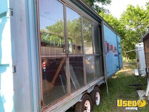2005 Shipping Container Food Concession Trailer Concession Trailer Spare Tire Texas for Sale