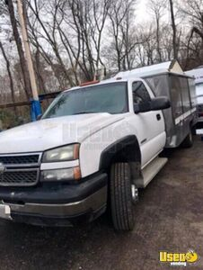 2005 Silverado 3500 Lunch Serving Food Truck Lunch Serving Food Truck Coffee Machine Maryland for Sale