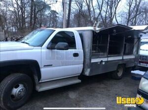 2005 Silverado 3500 Lunch Serving Food Truck Lunch Serving Food Truck Flatgrill Maryland for Sale