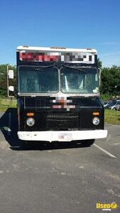 2005 Step Van Barbecue Food Truck Barbecue Food Truck Insulated Walls New York Diesel Engine for Sale