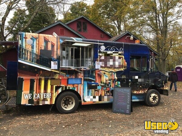 2006 14' Kitchen Food Truck All-purpose Food Truck New York Diesel Engine for Sale