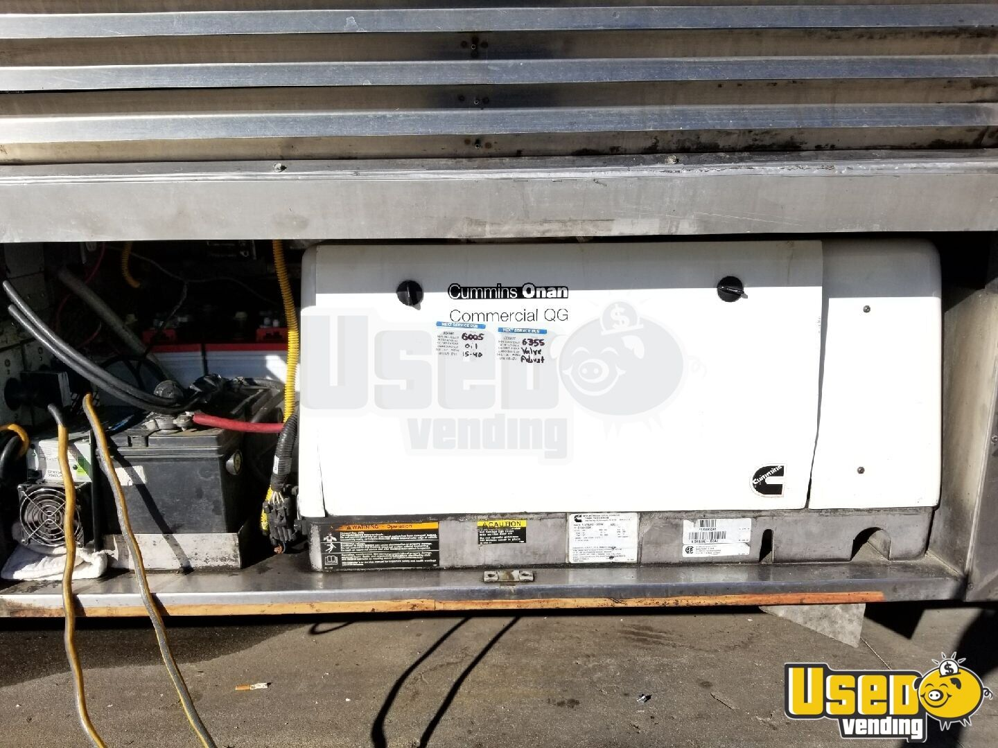 2006 Chevy Workhouse All-purpose Food Truck Fryer California Gas Engine for Sale - 13