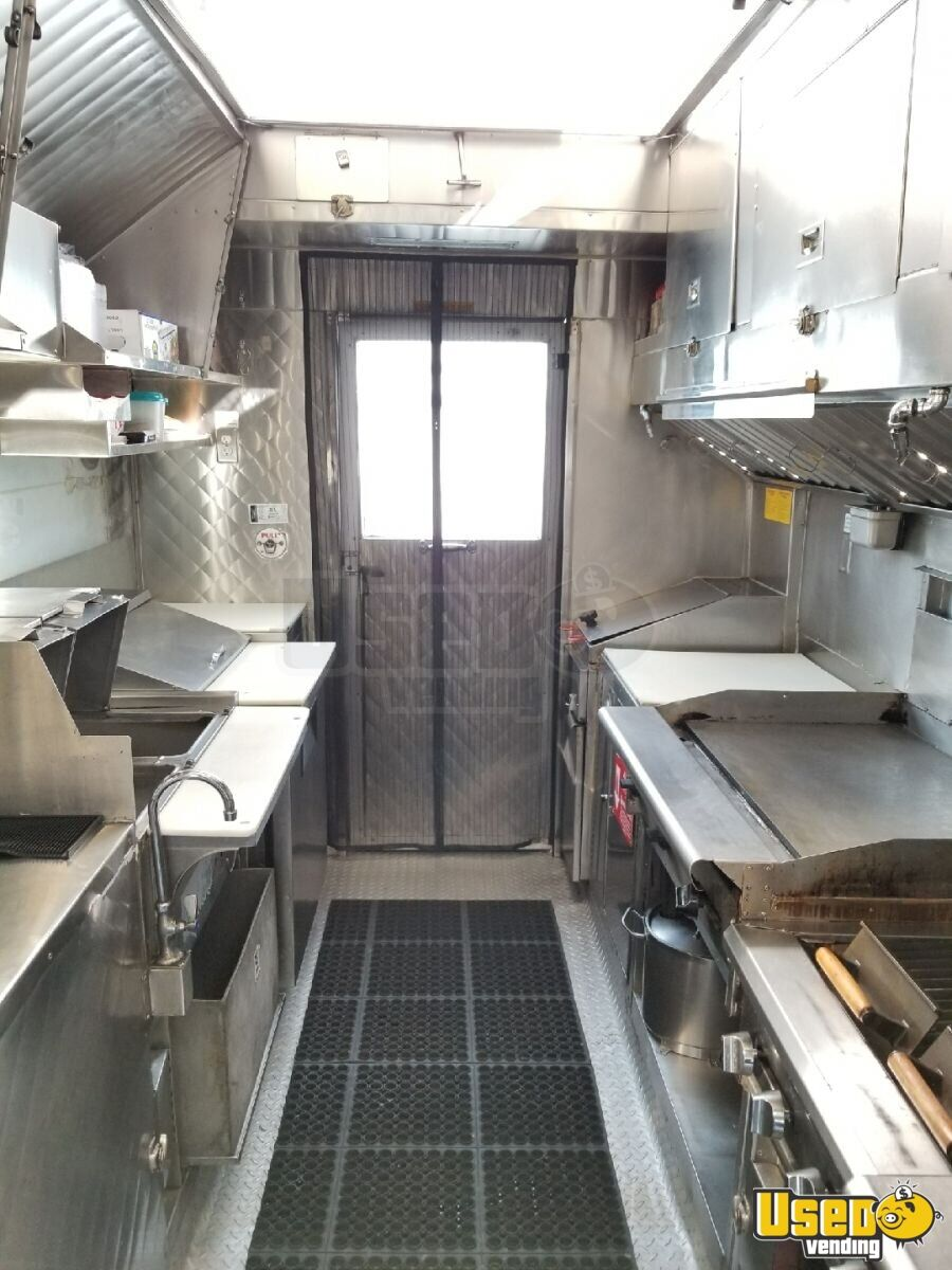 2006 Chevy Workhouse All-purpose Food Truck Stainless Steel Wall Covers California Gas Engine for Sale - 3