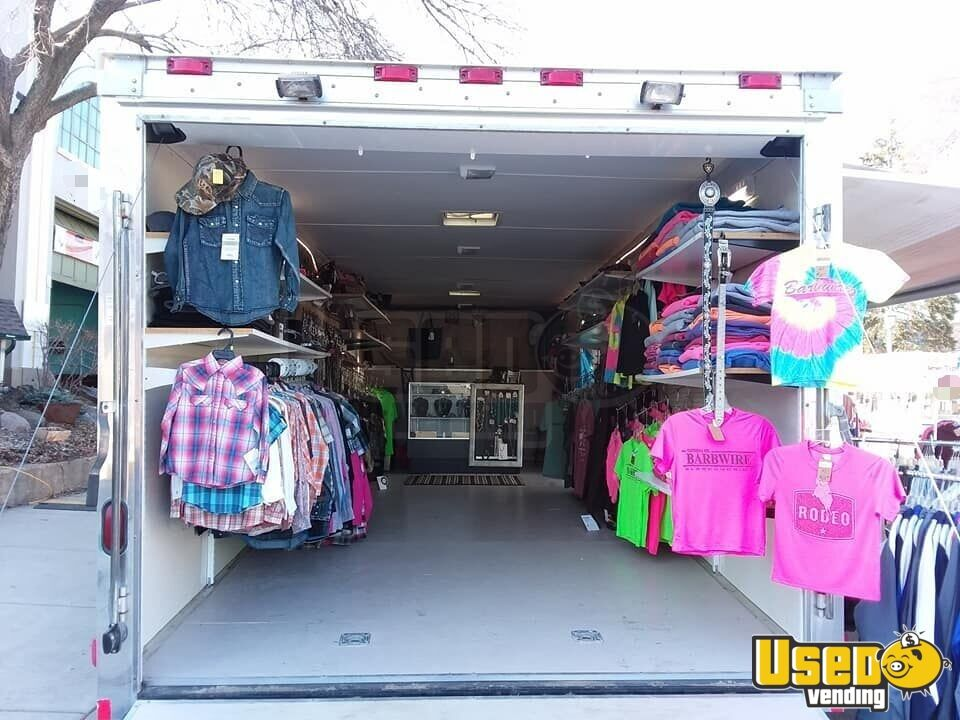2006 Continental Cargo And Printing Equipt. Mobile Boutique Truck Cabinets Minnesota for Sale - 3
