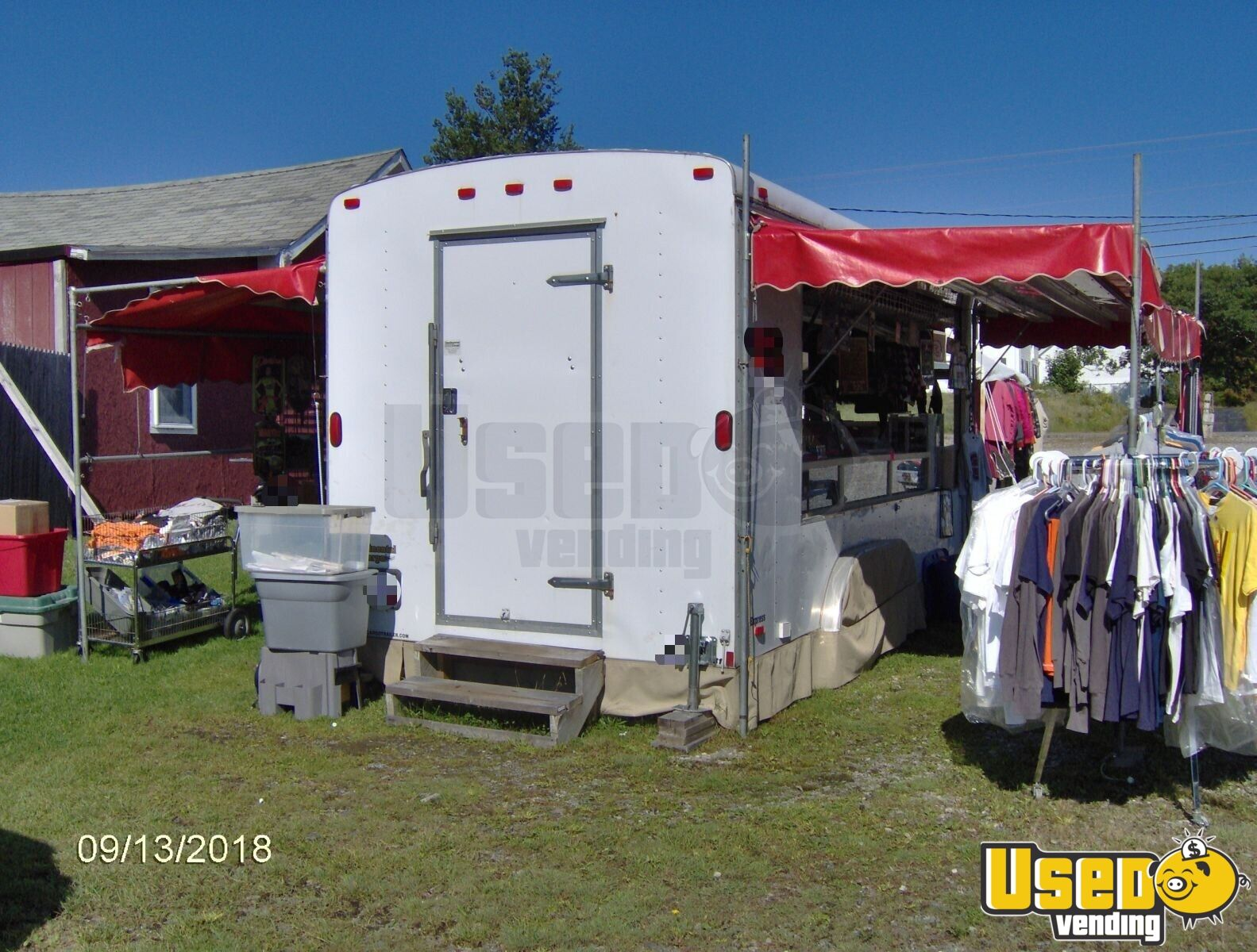 2006 Continental Cargo Other Mobile Business Concession Window Maine for Sale - 2