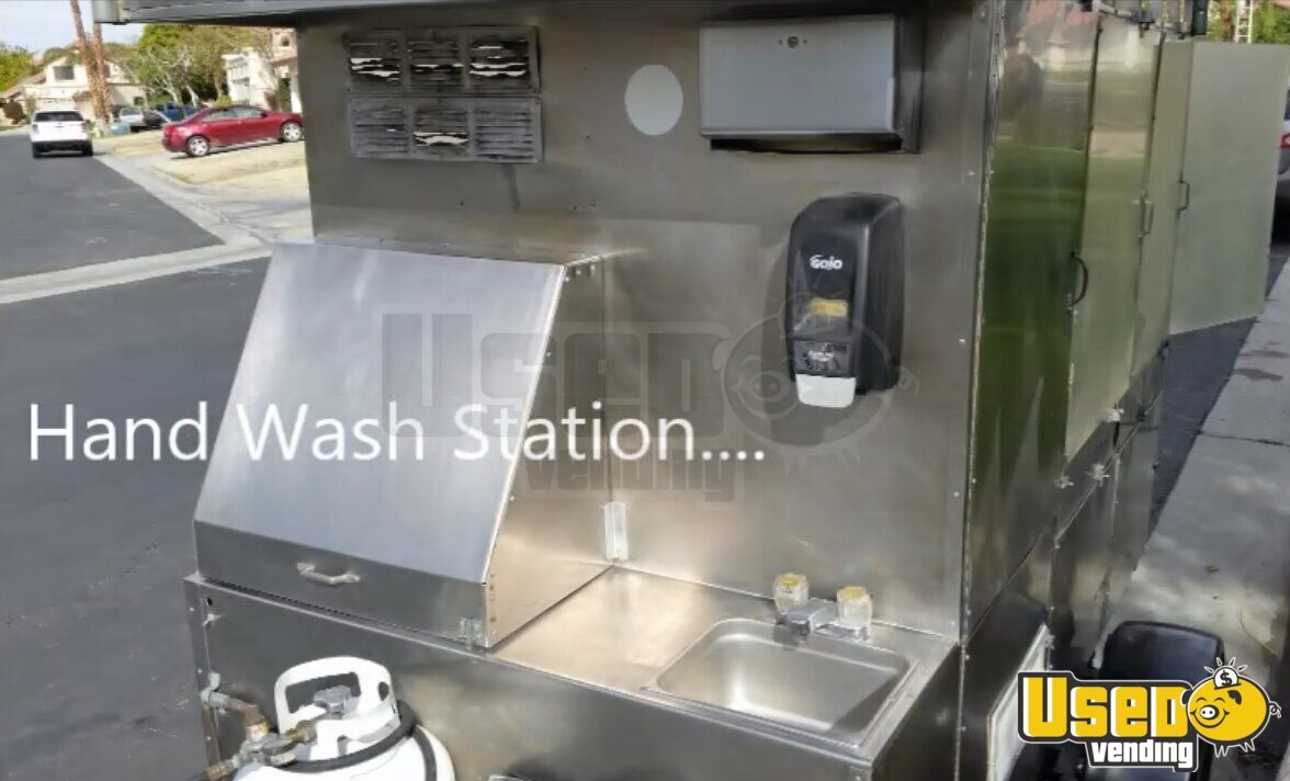 2006 Custom Concession Trailer Stovetop California for Sale - 8