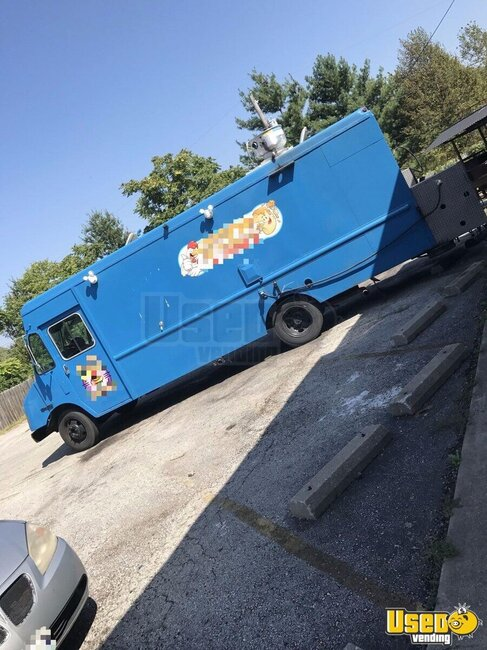 2006 Ford Box Truck All-purpose Food Truck Missouri Diesel Engine for Sale