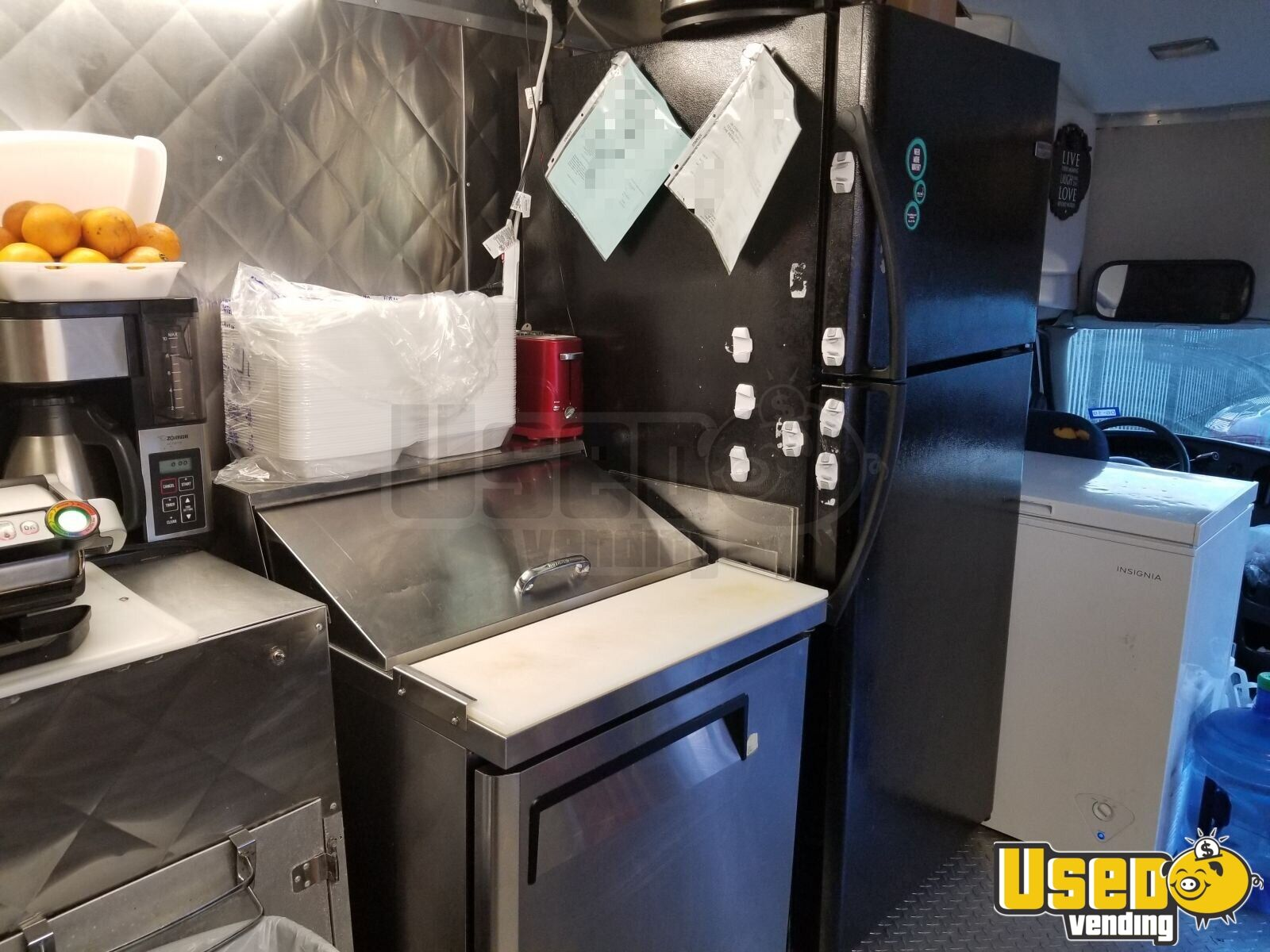 2006 Ford E-350 All-purpose Food Truck Microwave Texas for Sale - 14