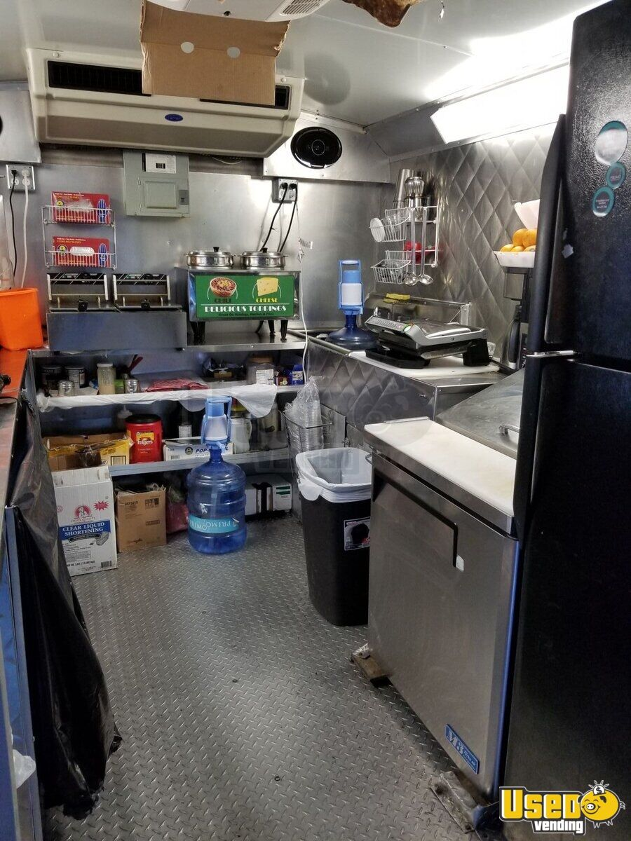 2006 Ford E-350 All-purpose Food Truck Steam Table Texas for Sale - 15