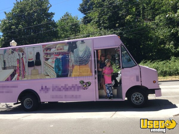 For Sale Used Ford E450 Mobile Fashion Truck In Washington