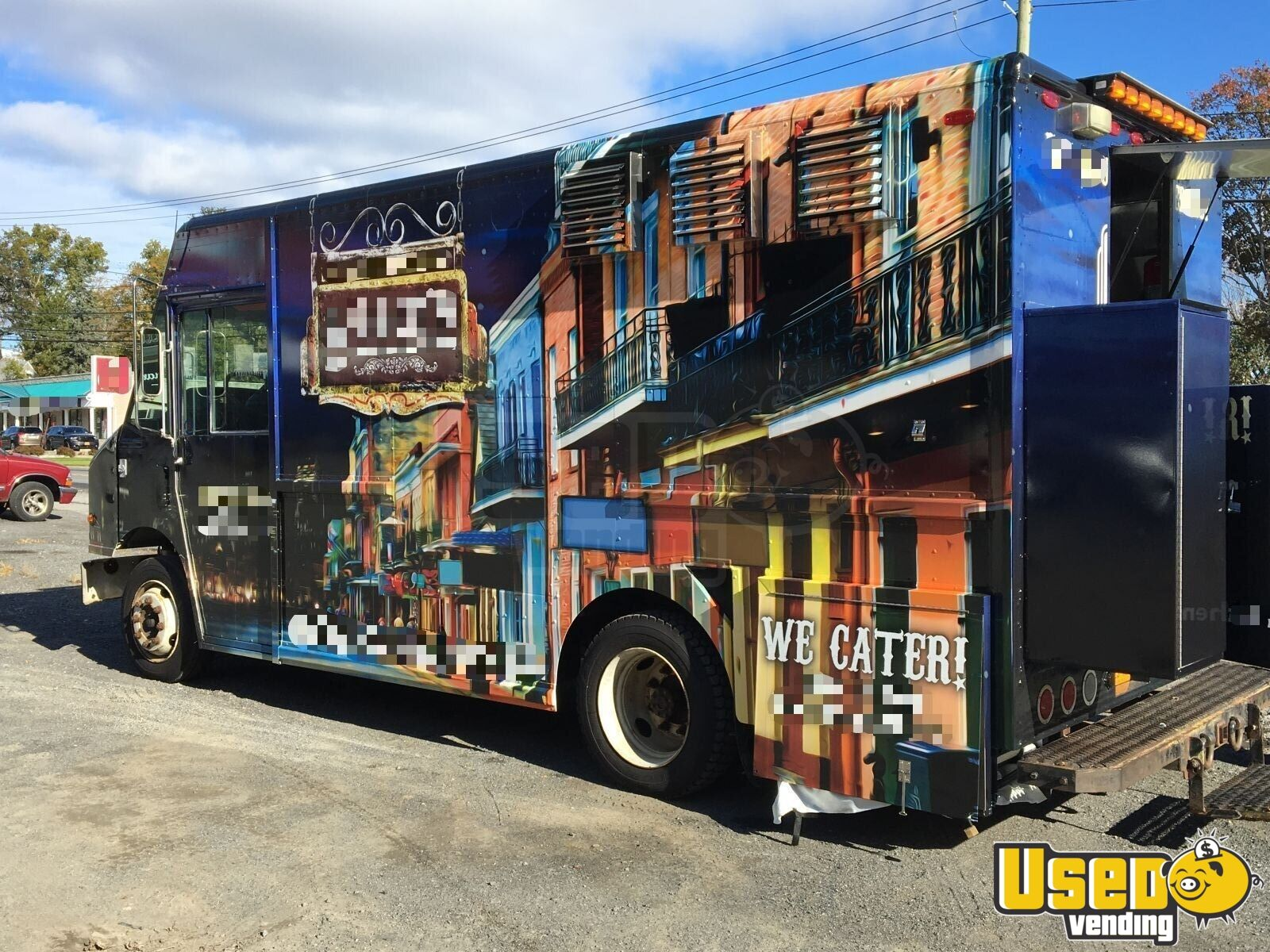 2006 Freightliner All-purpose Food Truck Air Conditioning New York Diesel Engine for Sale - 2