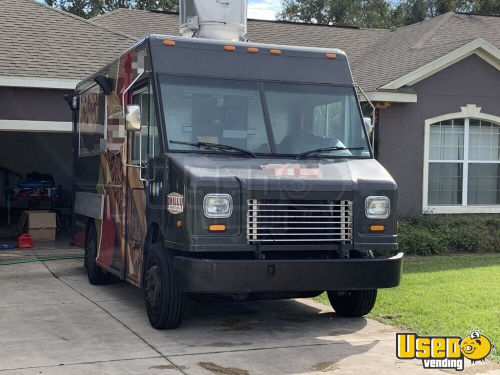 2006 Freightliner Mt45 Food Truck Air Conditioning Florida Diesel Engine for Sale - 2