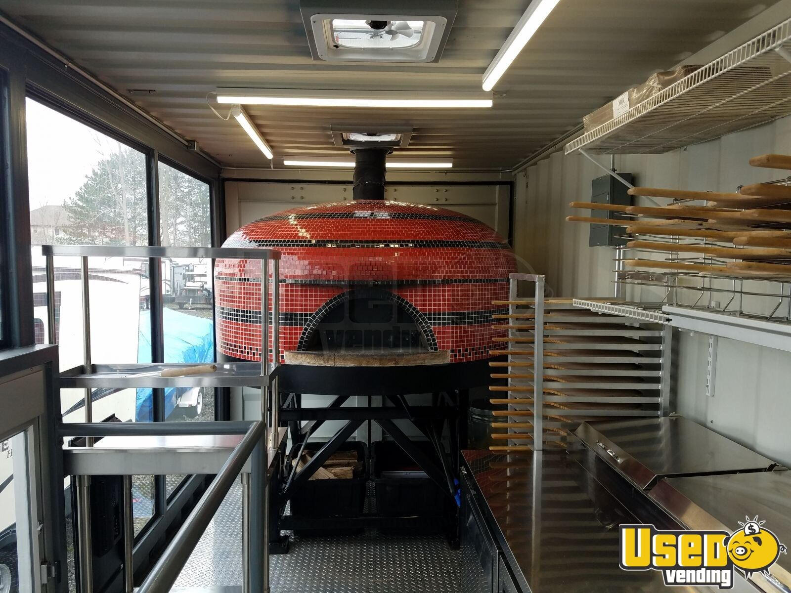 2006 Pizza Food Truck Generator Michigan Diesel Engine for Sale - 8
