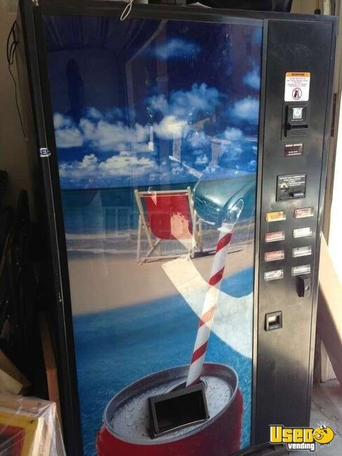 2006 Robertson Tranformer Company. Designer : Paul Hawkins Model Number : 3037 Usi Soda Machine California for Sale
