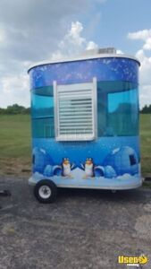 2006 Shaved Ice Concession Trailer Snowball Trailer Air Conditioning Kansas for Sale