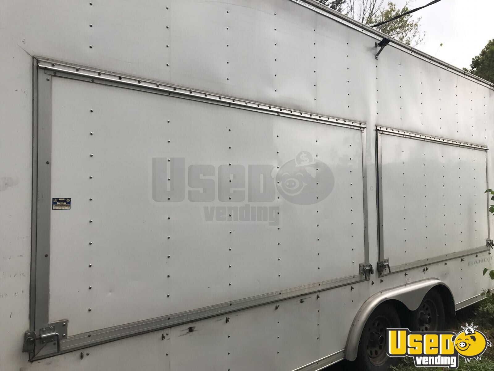 2006 Vintage 30ft Other Mobile Business Concession Window Texas for Sale - 2