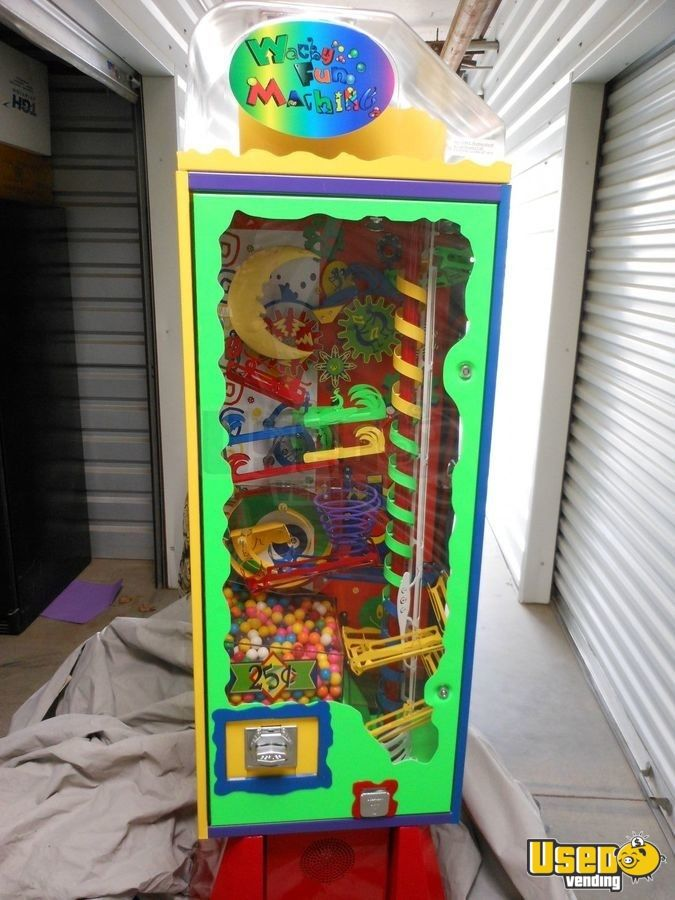 2006 Wacky Fun Factory - Super Wowie Zowie Large / Kinetic Gumball Machine 2 California for Sale - 2