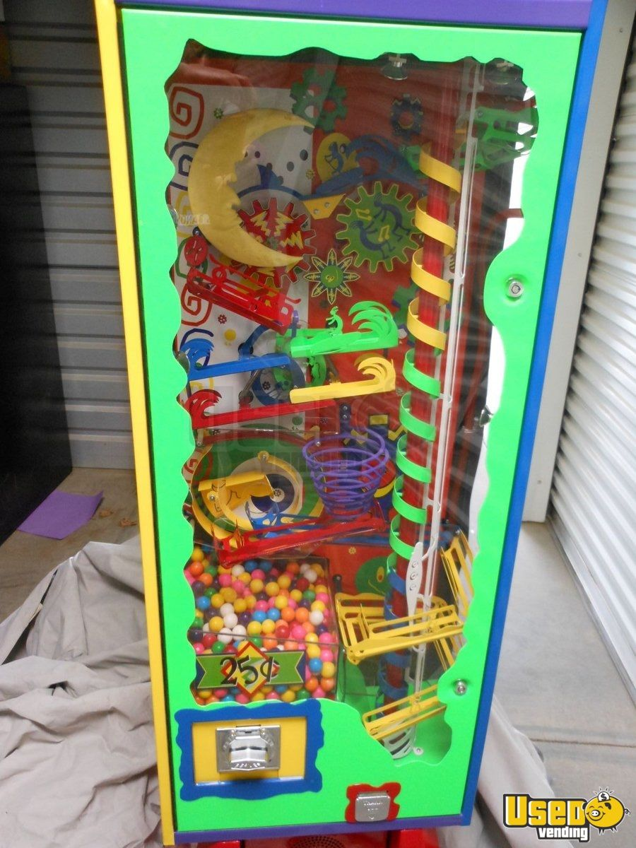 2006 Wacky Fun Factory - Super Wowie Zowie Large / Kinetic Gumball Machine 6 California for Sale - 6