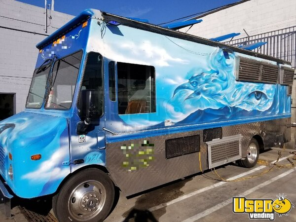2006 Workhorse Kitchen Food Truck All-purpose Food Truck California Gas Engine for Sale