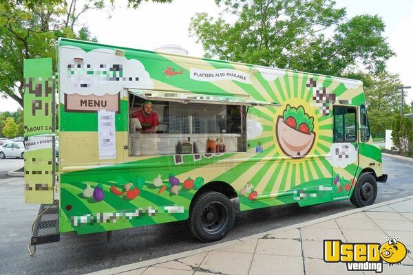 2006 Workhorse Kitchen Food Truck All-purpose Food Truck Pennsylvania Gas Engine for Sale