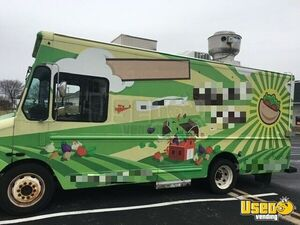 2006 Workhorse Kitchen Food Truck All-purpose Food Truck Stainless Steel Wall Covers Pennsylvania Gas Engine for Sale