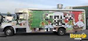 2007 320 Kitchen Food Truck All-purpose Food Truck Air Conditioning New York Diesel Engine for Sale