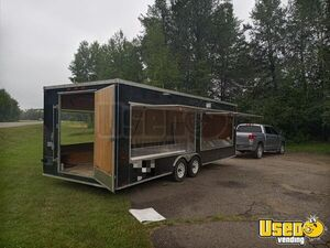 2007 8' X 24' Mobile Sales Display Trailer Other Mobile Business Interior Lighting Minnesota for Sale