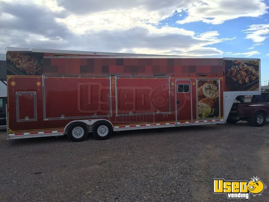 2007 Alumiline All-purpose Food Trailer Air Conditioning Nevada for Sale - 2