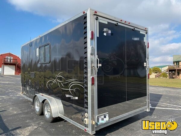 2007 Concession Trailer With Living Quarters Concession Trailer Missouri for Sale