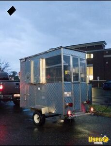 2007 Food Concession Trailer Concession Trailer Diamond Plated Aluminum Flooring Massachusetts for Sale
