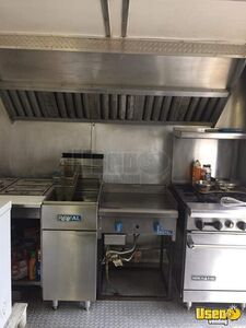 2007 Food Concession Trailer Kitchen Food Trailer Stainless Steel Wall Covers New York for Sale
