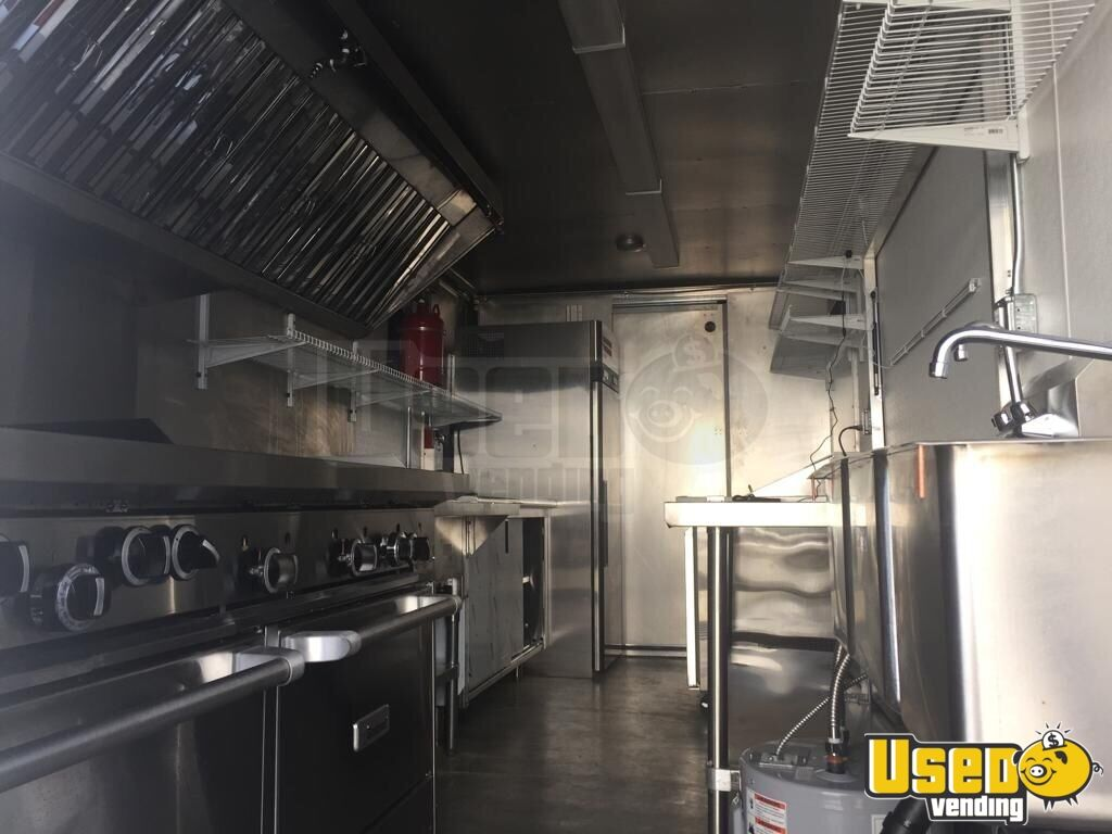 2007 Ford E350 All-purpose Food Truck Air Conditioning Washington Gas Engine for Sale - 2