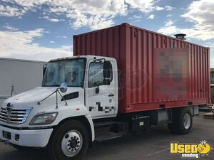 2007 Hino 165 Food Truck Concession Window Nevada Diesel Engine for Sale